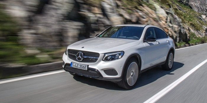Mercedes GLC Coupe (X253) 2016