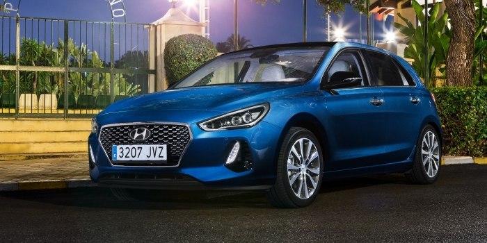 Hyundai i30 5-и дверный 2016