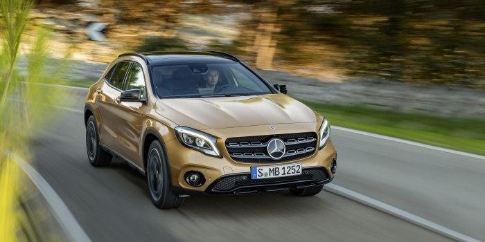 Mercedes GLA-Class (X156) 2017