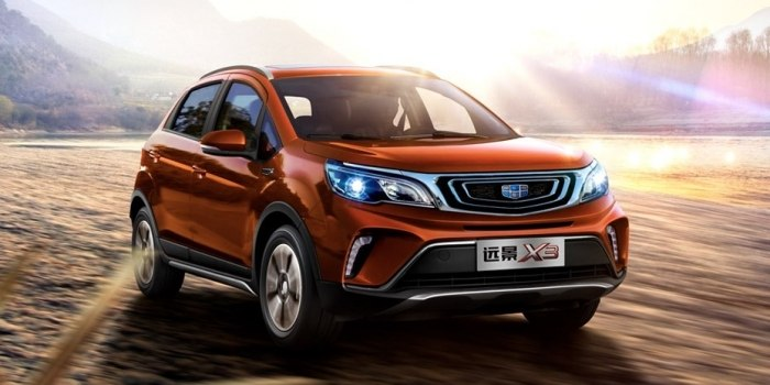 Geely Vision X3 2017