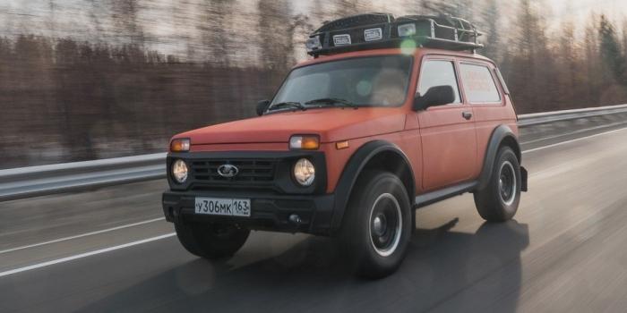 ВАЗ Lada 4x4 Bronto 2017