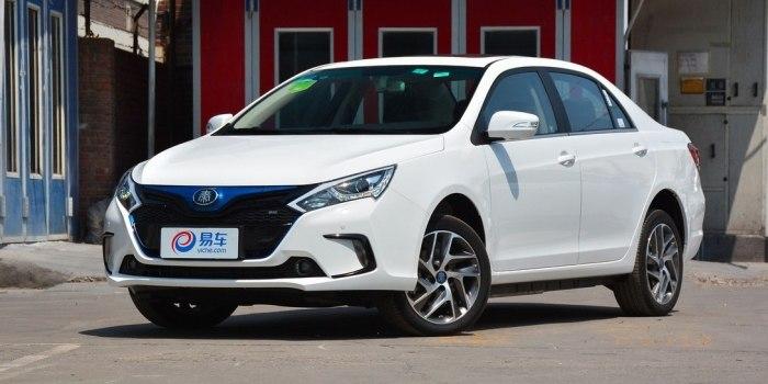 BYD Qin EV300 2016