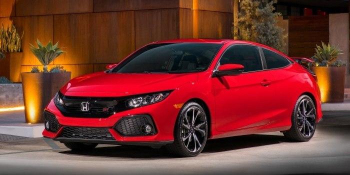 Honda Civic Si Coupe 2017