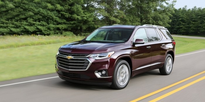 Обзор Chevrolet Traverse