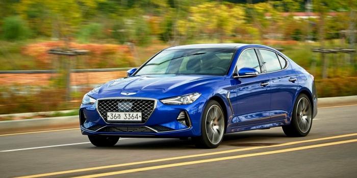 Hyundai Genesis G70 2017