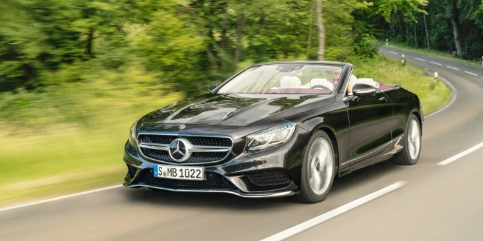 Mercedes S-Class Cabriolet (A217) 2017