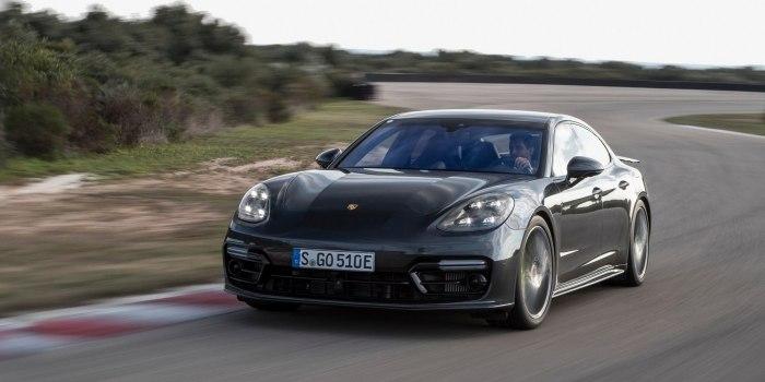 Porsche Panamera Turbo E-Hybrid 2017