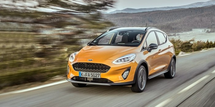 Ford Fiesta Active 2017