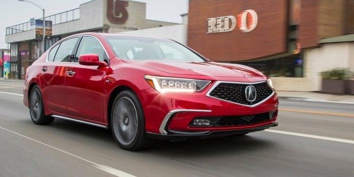 Acura RLX Sport Hybrid 2017