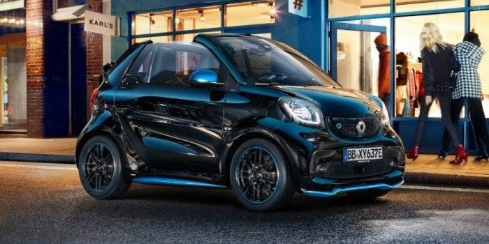 smart EQ fortwo cabrio 2018