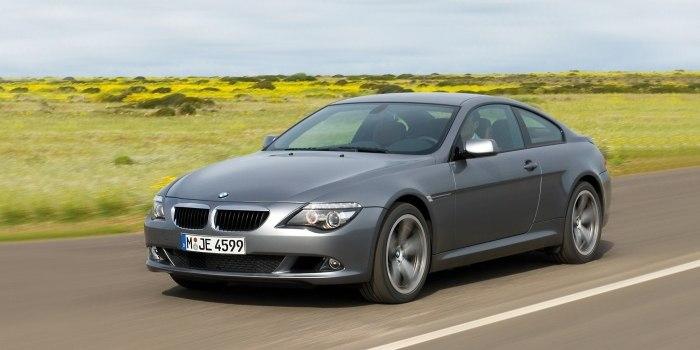 BMW 6 Series Coupe (E63) 2003