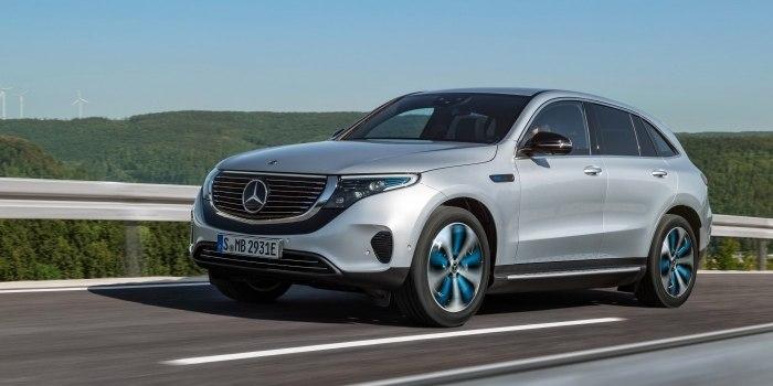 Обзор Mercedes EQC