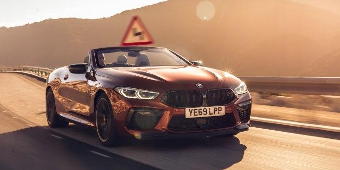 Обзор BMW M8 Cabrio