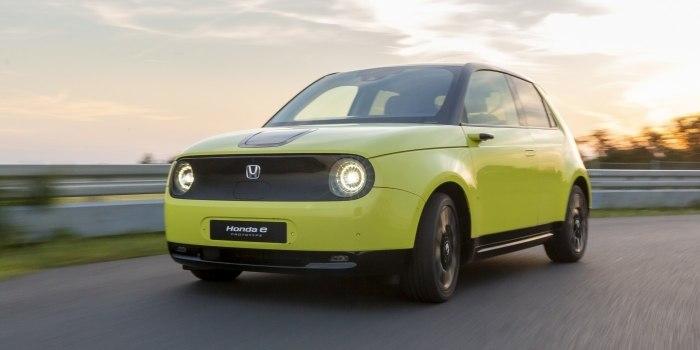 Обзор Honda E