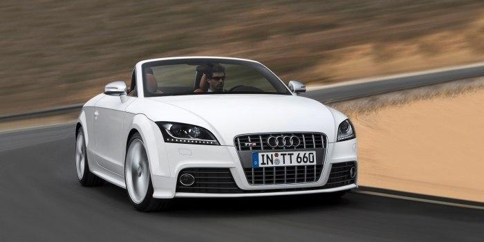 Audi TTS Roadster 2008