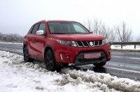 Красным по белому, или как это - на Suzuki Vitara S в Карпаты