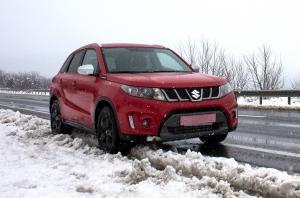 Тест-драйв Suzuki Vitara S: Красным по белому, или как это - на Suzuki Vitara S в Карпаты