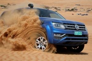 VW Amarok в пустыне Омана. Часть первая