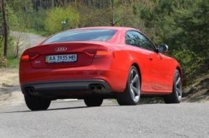 Audi S5. Удовольствие на первом месте