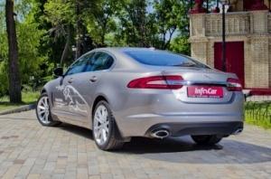 Jaguar XF. А дикая ли кошка?