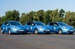 Тест-драйв Nissan Leaf: Leaf в Лужниках