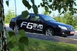 BYD F6: Китайская Camry по цене Aveo