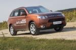 Тест-драйв Mitsubishi Outlander: Первый украинский тест Outlander 2012