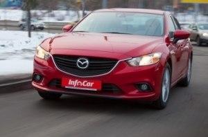 Mazda 6 - второй небесный активист
