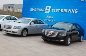 Geely Emgrand EC8 - блиц-тест в Китае