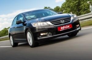 Honda Accord - европейский седан на американский лад