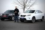 Тест-драйв Volkswagen Touareg: Гибрид или дизель? Lexus RX450h VS. VW Touareg 3.0TDI