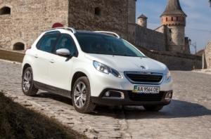 Peugeot 2008 1.2AT - тест на наших дорогах