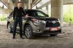 Тест-драйв Toyota Highlander: Toyota Highlander 2014 - городской горец