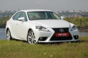Lexus IS. Взять высоту