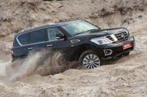 Nissan Patrol. Размер имеет значение