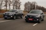 Тест-драйв Toyota RAV4: Toyota RAV4 vs Mazda CX-5