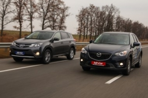 Toyota RAV4 vs Mazda CX-5