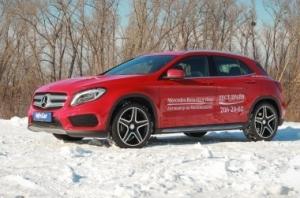Mercedes-Benz GLA. Гламурный горожанин