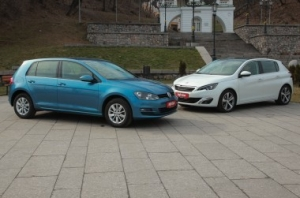 Peugeot 308 vs Volkswagen Golf