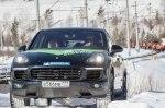 Тест-драйв Porsche Cayenne: Электромоторы в Сибири