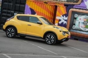 Nissan Juke. Оранжевое настроение