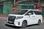 Тест-драйв Toyota Alphard: Кабинет