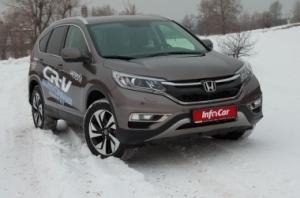 Honda CR-V. Проверим обновления