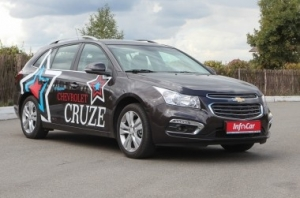 Chevrolet Cruze. Сухопутный круиз