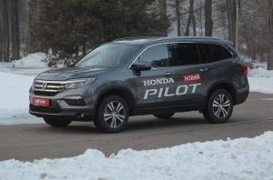 Honda Pilot. Внедорожный круизер