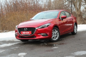 Mazda 3. Весенний драйв