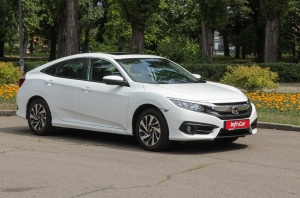 Тест-драйв Honda Civic Sedan: Honda Civic. Юбиляр