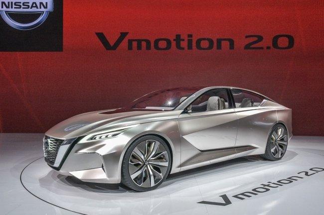 Nissan показал дизайн своих будущих автомобилей