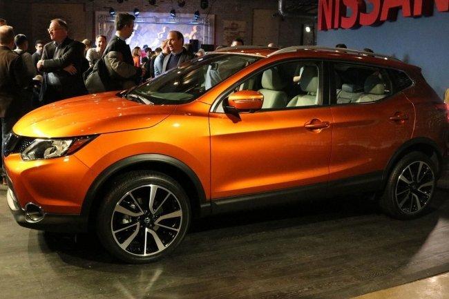 Кроссовер Nissan Qashqai приехал в США под именем Rogue Sport