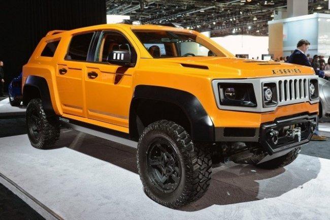 В Детройте представили внедорожник VLF Automotive X-Series